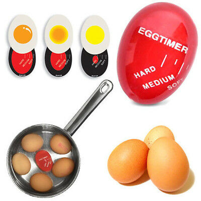 Portale Egg Color Changing Timer Yummy Soft Hard Boiled Kitchen Eggs Cooking