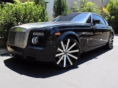 2009 Rolls-Royce Phantom Coupe Coupe 2-Door TARLIGHT OPTION, 24 INCH WHEELS, BLACK ON BLACK, CLEAN CARFAX, FINANCING OAC