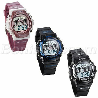 Kids Boys Girls Multi-function Children Sports Waterproof Digital Wrist Watch