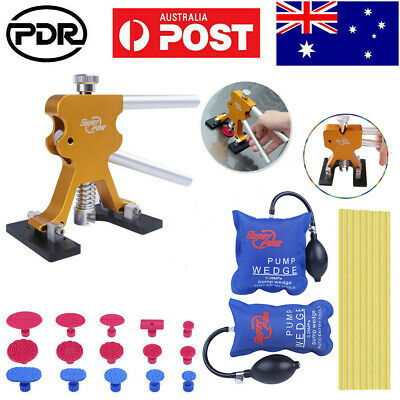 42× Paintless Dent Repair Removal Hail Puller Lifter PDR Tools AU Glue Gun Kits