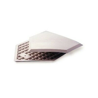 (White) - Athletic Specialties Heavy Duty Home Plate without Stakes. Delivery is