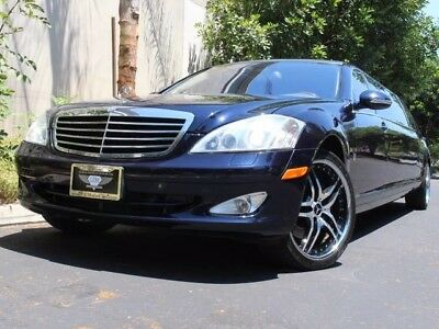2007 Mercedes-Benz S-Class Base Sedan 4-Door LIMOUSINE S550, VERY RARE, CLEAN CARFAX, FINANCING AVAILABLE OAC LIMO