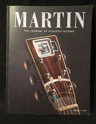 Martin The Journal of Acoustic Guitars Volume 7 2017 Color Magazine Custom Shop