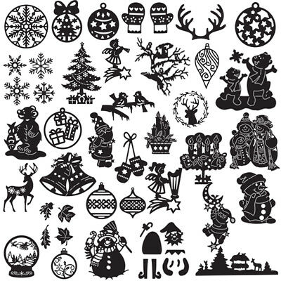 Xmas Snowman Metal Cutting Dies DIY Scrapbooking Decor Embossing Photo Album
