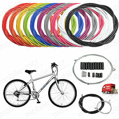 Jagwire Complete set Brake+Gear Front Rear inner outer bike cables Bicycle cable