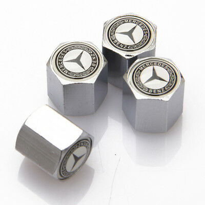 Universal Car Decorations Wheel Tire Valve Cap Tyre Dust Cover For Mercedes-Benz