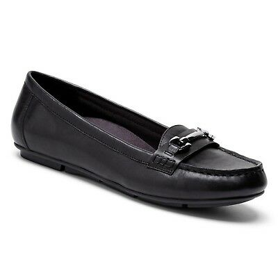 (5 B(M) US, Black) - Vionic with Orthaheel Technology Women's Kenya Loafer