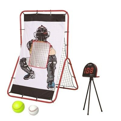 (White) - Net Playz Pitching Radar and Rebound Trainer. Shipping is Free