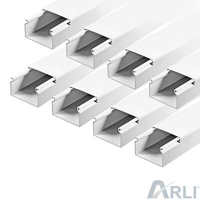Cable Channel 40 x 25 mm PVC 12m Tray installationskanal Electric Canal