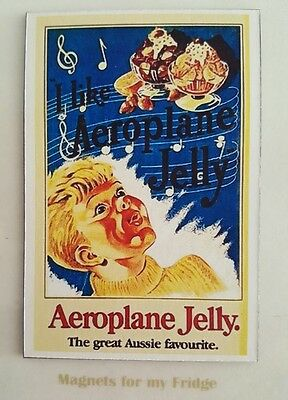 Vintage Aeroplane Jelly Advertisement Fridge Magnet - M331