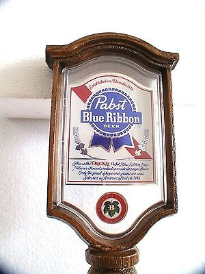 Pabst Blue Ribbon beer tap top/Handle