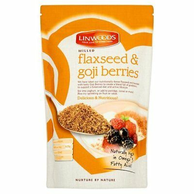 Linwoods Organic Milled Flaxseed and Goji Berries, 425g