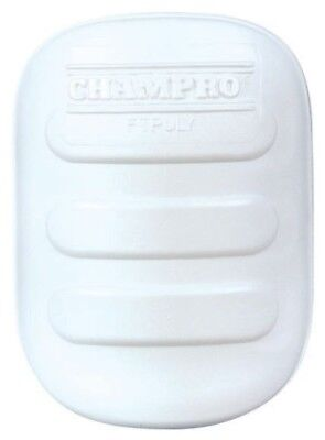 Champro Ultra Light Thigh Pad (White, Youth). Free Delivery