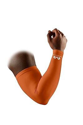 (Large, Texas Orange) - McDavid 656 Performance Compression Arm Sleeve