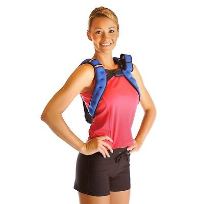 (Blue) - Tone Fitness Weighted Vest, 5.4kg. Free Shipping