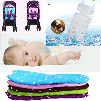 Ultra Soft Infant Baby Stroller Pram Pushchair Cotton Seat Liner Pad Cushion Mat