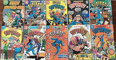 10 Of Early 1980s Superman Superboy DC Comics .
