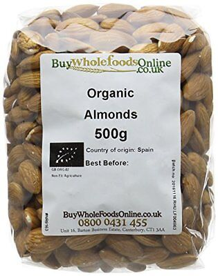 Buy Whole Foods Organic Almonds 500 g