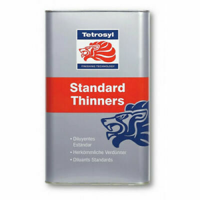 Standard Cellulose Thinners 5 Litres Gun Cleaner Paint Primer 5L FP Tetrosyl