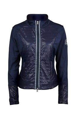 (Small, Navy) - Dublin Mia Zip Up Top, Navy (Ladies). Shipping Included