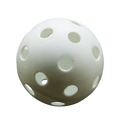 Athletic Specialties Perforated Softballs Box of 100 White. Brand New