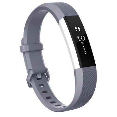 (Large, Gray) - Fitbit Alta HR Bands, Vancle Classic Accessory Alta HR and Alta