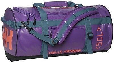 Helly Hansen HH Duffel Bag 50L Holdall 67002/107 Sunburned Purple RRP £70 NEW