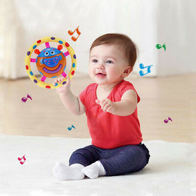 Baby Rattle Learning Study Music Sound Early Educational Toys Mini Beetles Toy