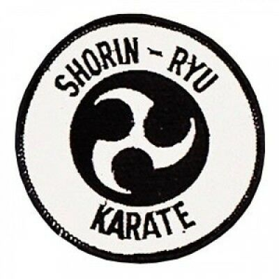 Shorin-Ryu Karate Patch - 10.2cm Dia. - 10 Pack. Pro Force. Delivery is Free