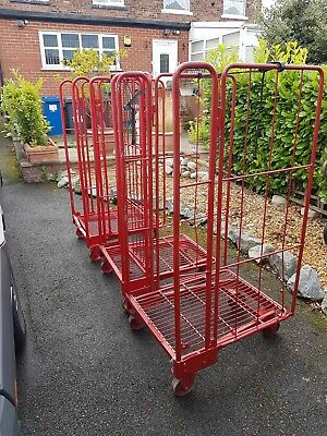 Roll Cage Trolley 2 Sides Warehouse