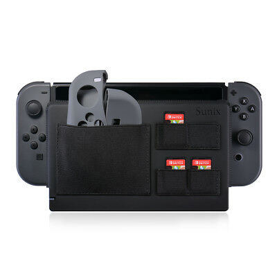 Dock Case with 4 Game Card Pockets for Nintendo Switch Docking Station SU524
