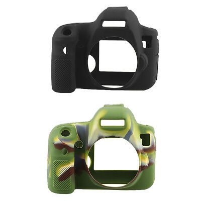 Protective Silicone Shell Shockproof Case Cover for Canon EOS 6D DSLR Camera
