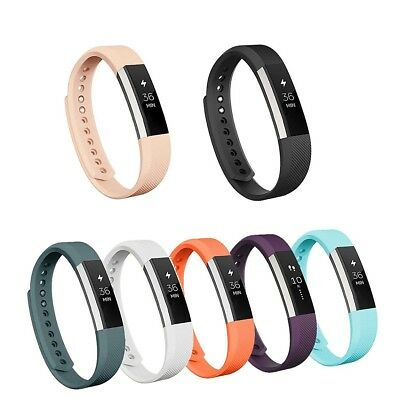 (Large, Black & White) - Vancle Fitbit Alta Bands, Replacement Bands for Fitbit
