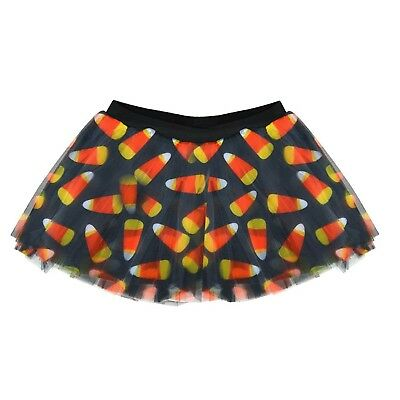 Gone For a Run Runner's Printed Tutu Candy Corn. Shipping is Free