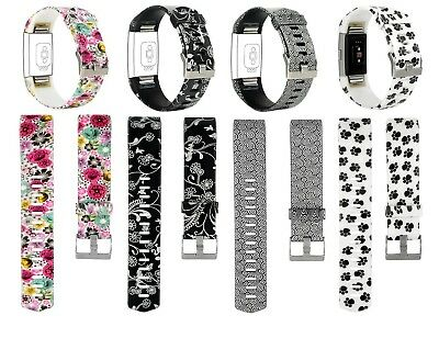 (Small(14cm  - 17cm ), P44-4PCS,Pattern A) - For Fitbit Charge 2 Bands, Treasure