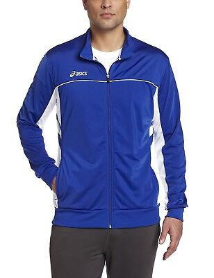(X-Small, Royal/White) - ASICS Men's Cabrillo Jacket. Shipping is Free