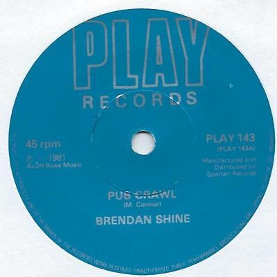 "Brendan Shine - Pub Crawl - 7"" Single"
