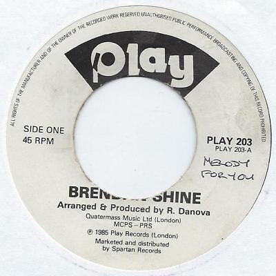 "Brendan Shine - Moon Shine - 7"" Single"