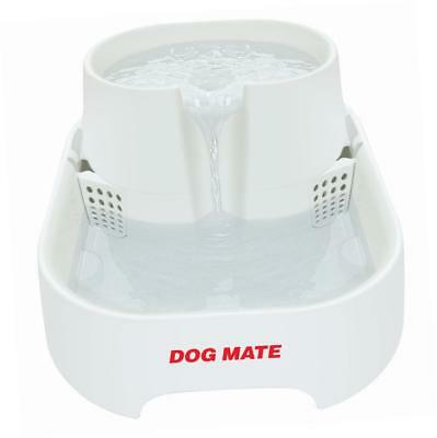 Dog Mate Large Fresh Water Drinking Fountain for Dogs and Cats