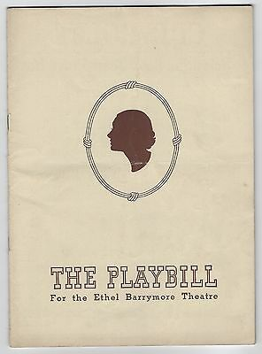 "1940?  Playbill Laurence Olivier ""No Time For Comedy"" Katharine Cornell"