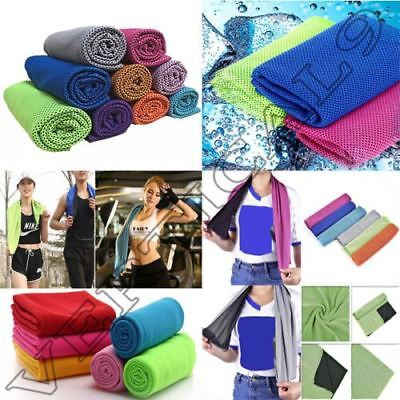 Instant Cooling Towel Sports Gym Cycling Jogging Drying Sweat Pets Baby Absorb