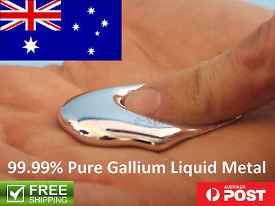 Pure Gallium Liquid Metal 99.99% Purity 4N Premium DIY Fidget Spinner Terminator