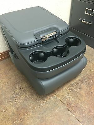 Dodge Ram Truck 1500 2500 Grey Center Console Jump Seat Limo Leather Vinyl New