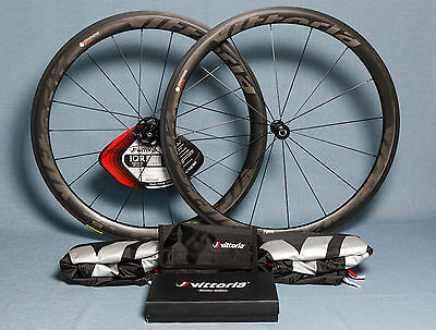 NEW Vittoria Qurano 46 Carbon Clincher Tubeless Road Wheelset
