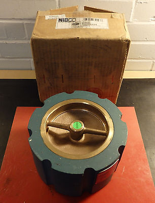 """NIBCO 3"""" Silent Wafer Check Valve Lead-Free Class 125 Iron W910W-S"""