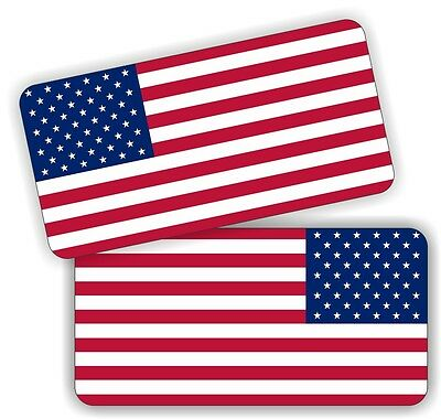 American Flag Hard Hat Decals | Motorcycle Safety Helmet Stickers | Flags USA