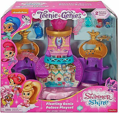 Shimmer and Shine Teenie Genies Floating Genie Palace Playset - DTK59 - NEW