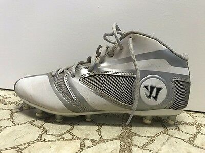 Used Warrior Burn 7.0 Lacrosse Cleat (size M6)