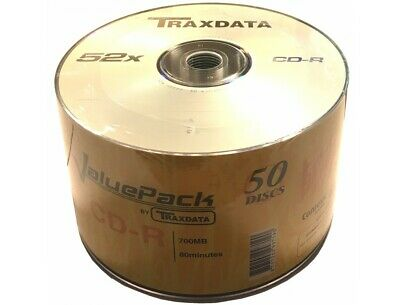 50 Aone DVD-R Discs White Inkjet Printable 4.7GB 16X Speed 120min 50 Spinde Pack
