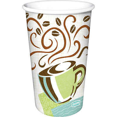 Dixie 12 oz PerfecTouch Insulated Paper Hot Cup Coffee - 160 Cups + LIds